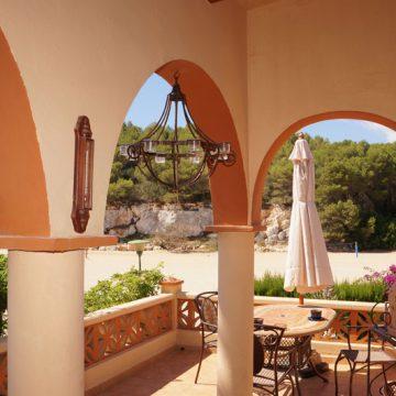Strandhaus Mallorca Ferienhaus - Blick von der Terrasse