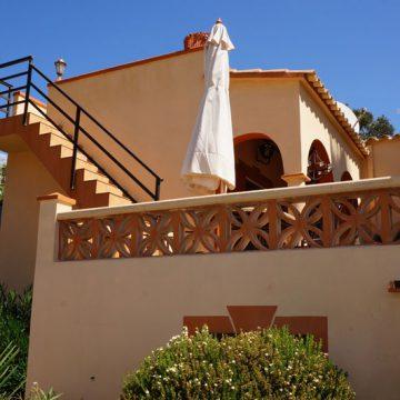 Strandhaus Mallorca Ferienhaus Frontansicht Haus